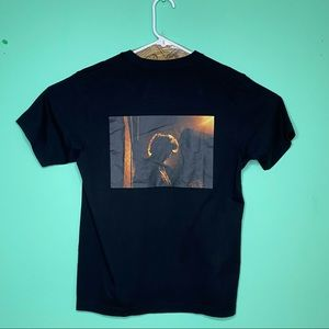 Men's Ryan McGinley X Uniqlo Black T shirt